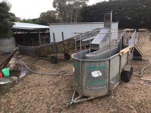 Farm assist sheep dipping