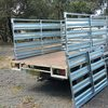 Heavy duty stock crates