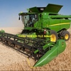 Small Fronts Wanted to suit John Deere 9750 / 9650 or CASE IH 2388 - 21FT Draper Double Drive or Similar