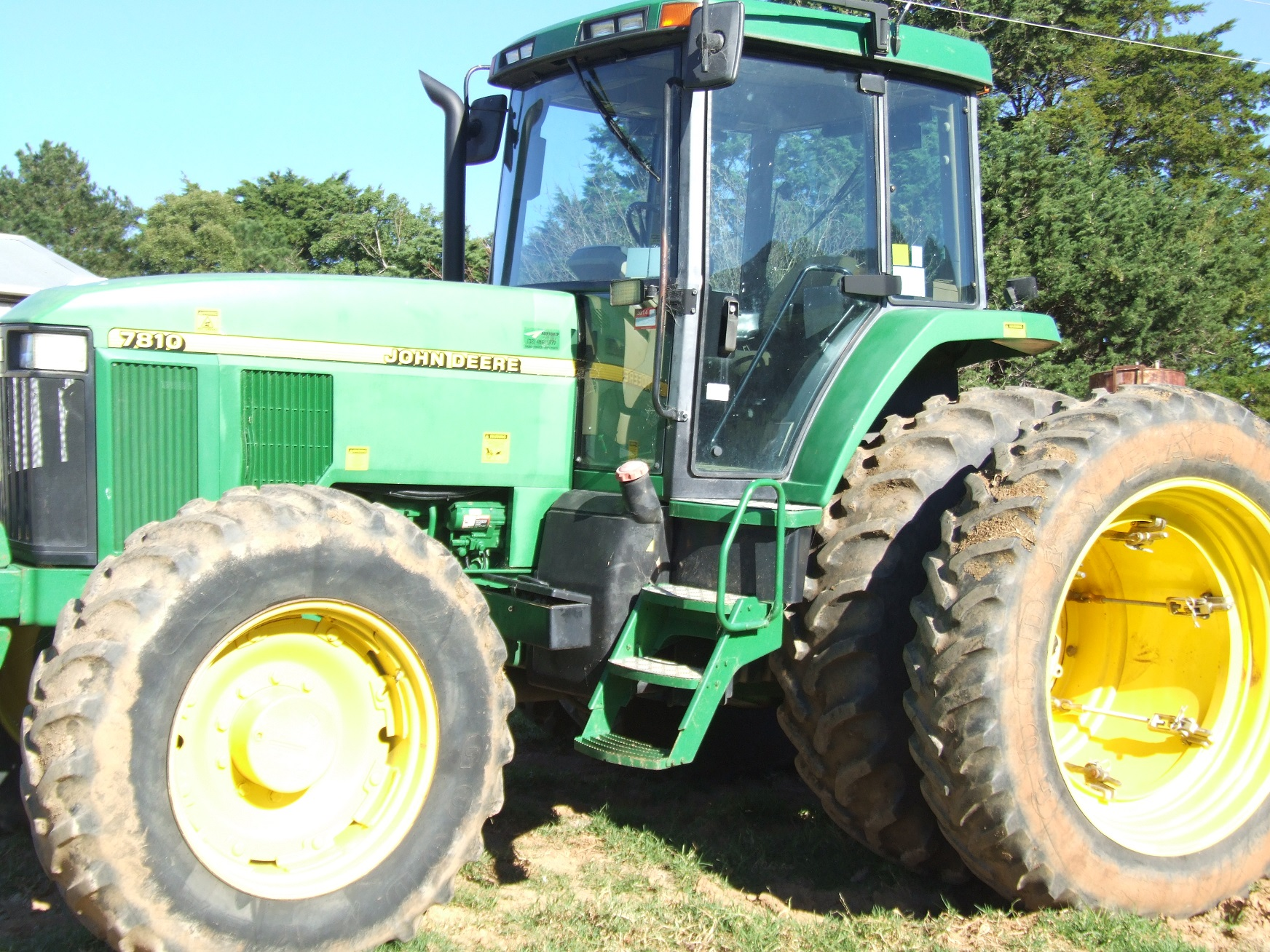 Front Duals For Tractors : Dual wheel john deere tractor price drop machinery