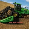 John Deere  W150 Windrower with 40 ft 440 D Front
