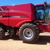 2015 Case IH 8240 Axial Flow Combine Harvester with 40ft MacDon D65 Draper Front