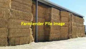 60mt Wheaten Hay 500kg 8x4x3 Bales