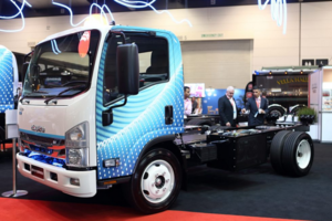 Isuzu planning an Electric Truck