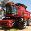 2011 CASE IH 8120 HEADER & 2162 DRAPER FLEX FRONT