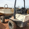 4x4 all terrain articulated site dumpers with 180 degree power swivel and tilt