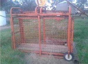 Livestock weigh Crate