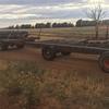 Hay trailers
