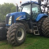 New Holland T8030 285hp FWA Tractor
