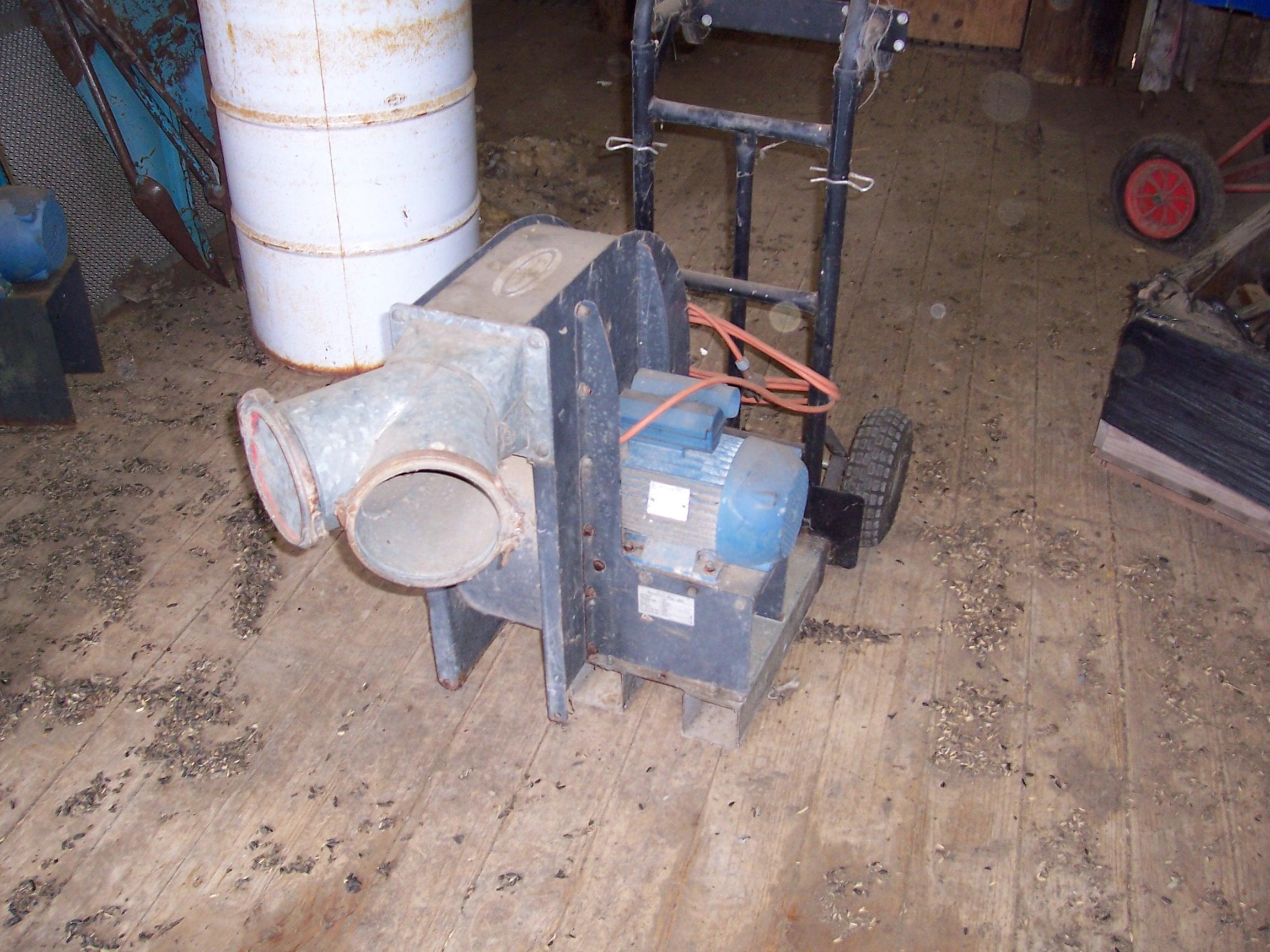 Used Grain Blowers : Smallaire grain dryer blower machinery equipment