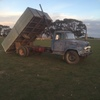Diesel tip truck