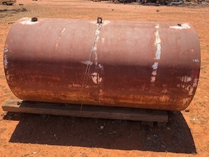 2 x Steel Water Tanks