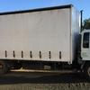 HINO FE93  single axle taughtliner truck