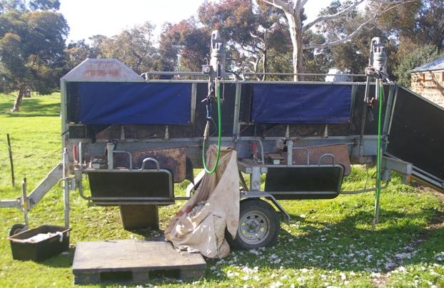 Perkinz Crutching Trailer Livestock Equipment Livestock