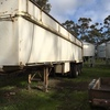 TRI AXEL TIPPING TRAILER - 34' x 6'  White Weight Saver. **REDUCED**