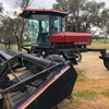 Macdon 9000 windrower with front