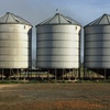 5 x 540 Bag Cullen Silo's For Sale w Sight Glasses and Ground Lid Openers - Better Price for lot!