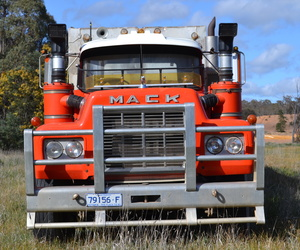 Mack truck and 32' Muscat trailer