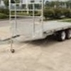 Flat Top Trailer  12 ft x 7 ft Good Condition