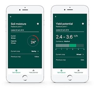CSIRO app that forecasts Grain yield