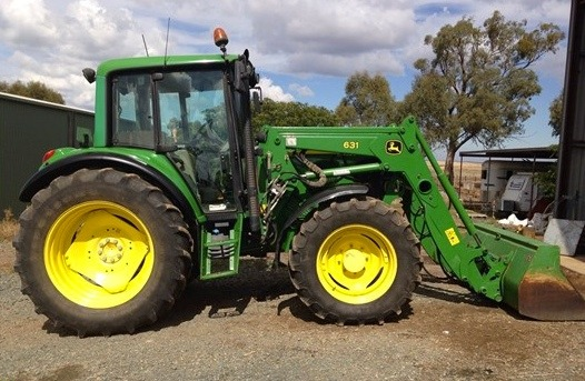 John Deere For Sale >> John Deere 6320 Tractor With 631 Loader For Sale Machinery Amp