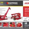 AKRON GRAIN BAG OUTLOADERS (NEW)... BUY or HIRE NOW.