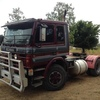 Scania Prime mover and tipper trailer