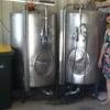 2 x Stainless pressure beer tanks $2,000 ea + gst