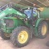 John Deere 6520 Front End Loader