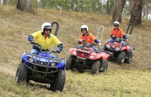 Worksafe on the prowl with Farm Quadbike safety