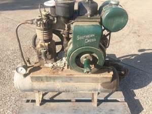 Southern Cross Diesel Engine & Pulford Compressor