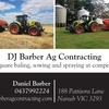 DJ Barber Ag Contracting - Hay Mowing, Raking & Baling Avaliable