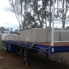 1985 45Ft Formark Flattop Trailer For Sale