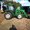 Changfa CFF 804 80 HP tractor with 4 in 1 loader