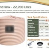 Clark Tanks - Round Tank - 22,700 Litres For Sale