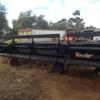 960 Macdon 36ft draper front