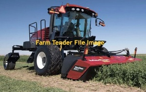 Self Propelled Windrower wanted with Disc Mower Conditioner Front