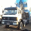 1996 Mercedes 8 wheel Tipper Trailer V24-35