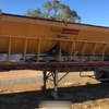 20FT Keogh Rear Discharge Grouper and flat top trailer