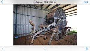 TurboCipa 400m Hardhose travelling irrigator with 42m boom