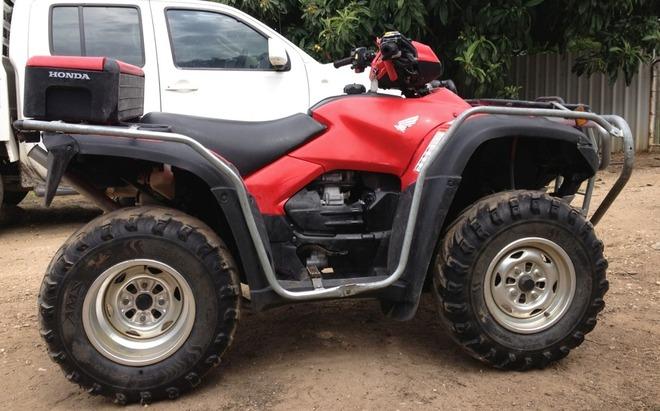 honda trx500 quad bike for sale vehicles motorbikes atv. Black Bedroom Furniture Sets. Home Design Ideas
