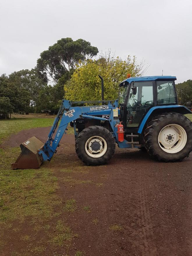 New Holland Ford >> Ford New Holland 6640 Front End Loader