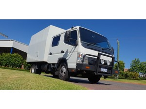 2006 Fuso Canter 815 Wide Service Body