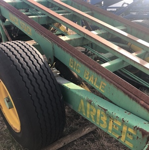 Arbee 5 high bale stacker