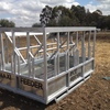 Large Maxi-Feeder: Hay feeders suits yearlings and adult cattle.
