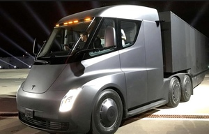 Coming to a paddock near you, maybe.... UPS order 125 Tesla Trucks