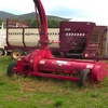 Forage Harvester - Omarv Forage Harvester Double Chop FH 180 DT, with Giltrap Silage Feedout Cart
