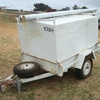 Single Axle Box Trailer - 1360W x 1860L