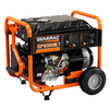 GENERAC GP6500E PORTABLE GENERATOR -Engineered in USA
