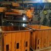 Orange sunbeam woolpress